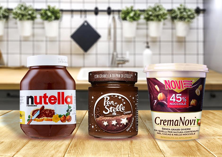 Creme spalmabili a confronto: meglio Nutella, Pan di Stelle o Novi?